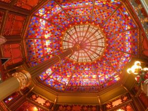Inside Old State Capitol: Louisiana, Baton Rouge, Louisiana