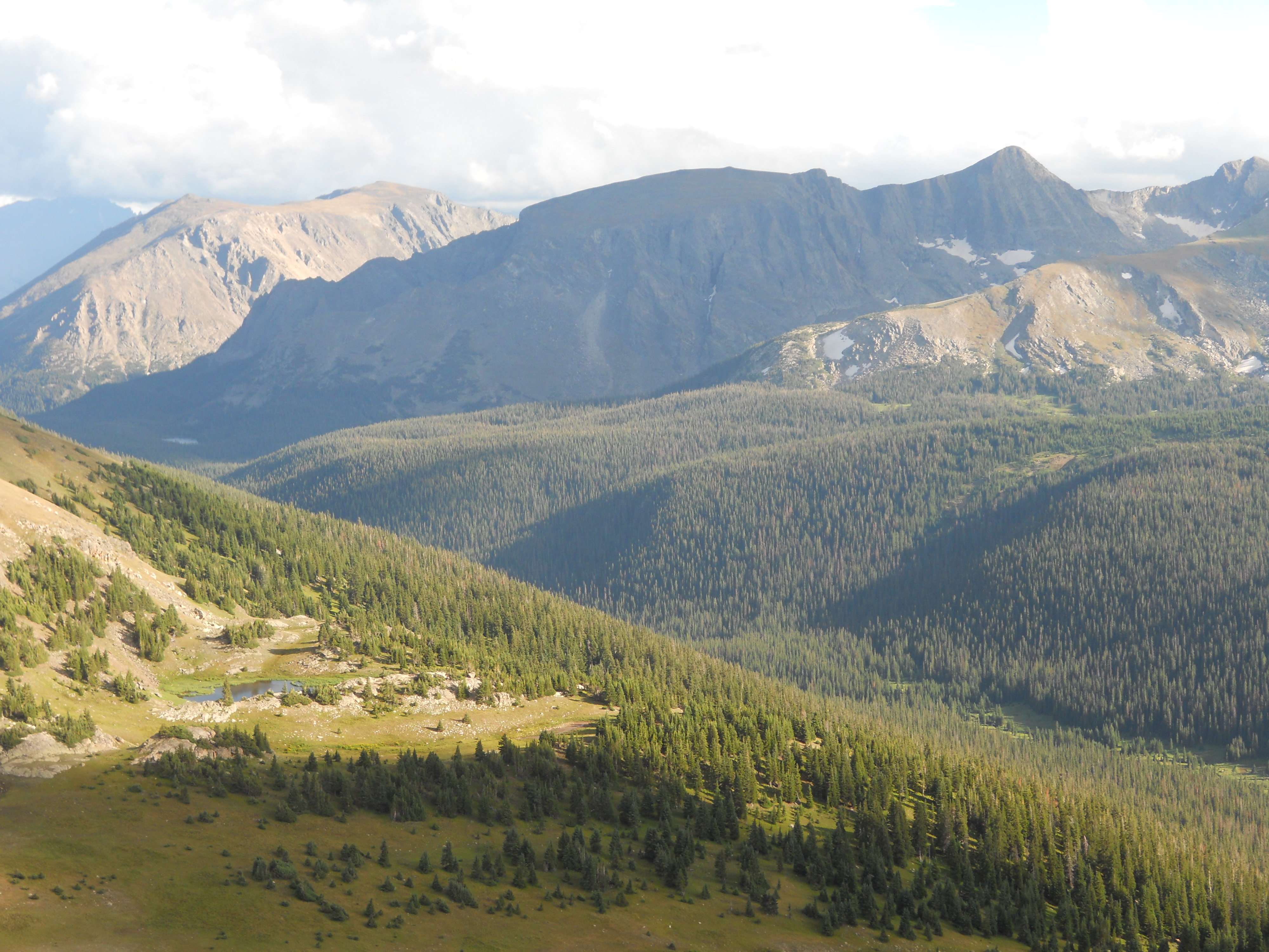 Continental Divide, Rocky Mountain National Park.