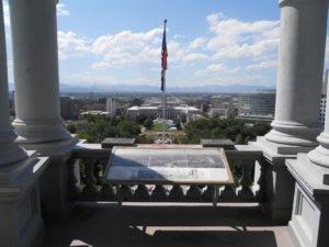 View from State Capitol: Colorado Denver, Colorado