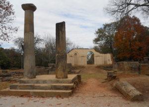Ruins of Old State Capitol: Alabama Tuscaloosa, Alabama